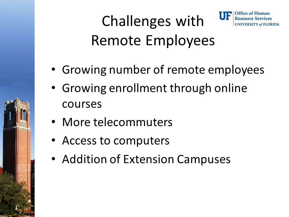 Challenges with Remote Employees