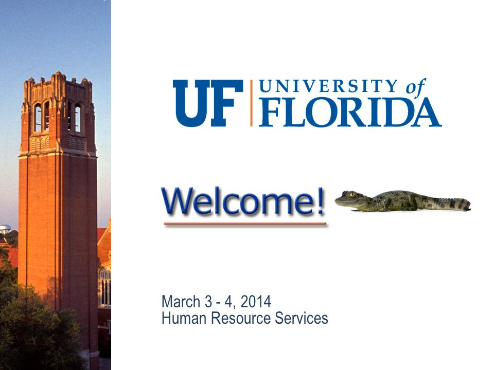 March 3 - 4, 2014 Human Resource Services