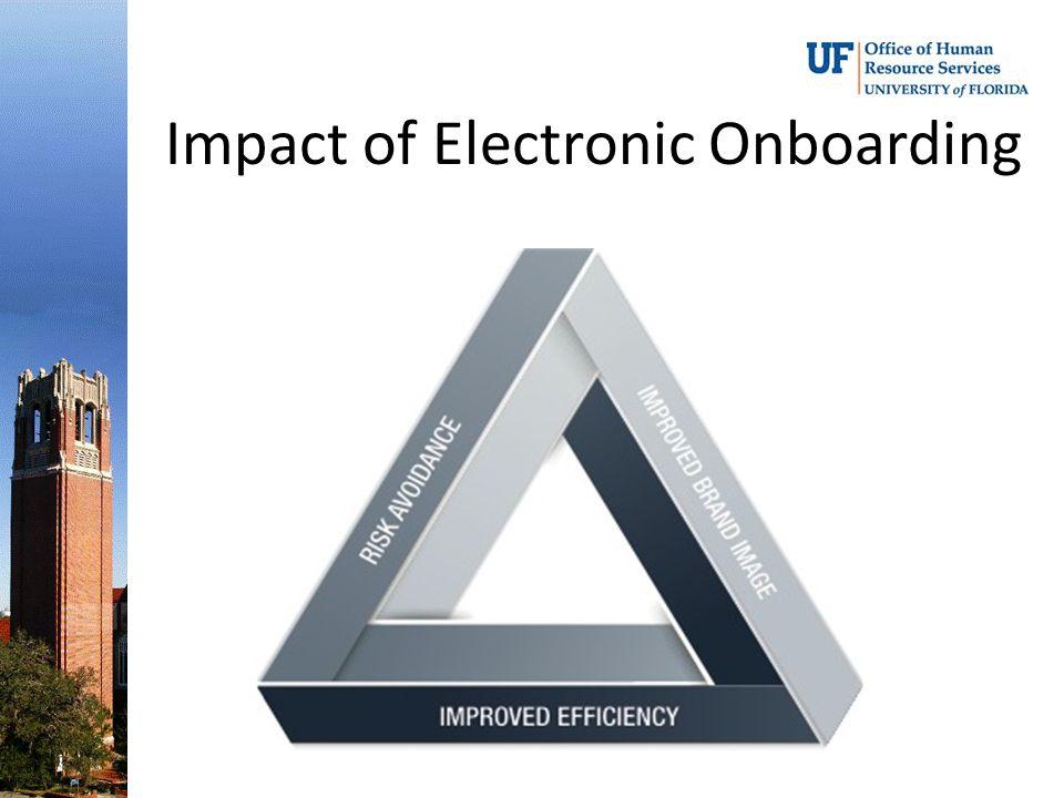 Impact of Electronic Onboarding