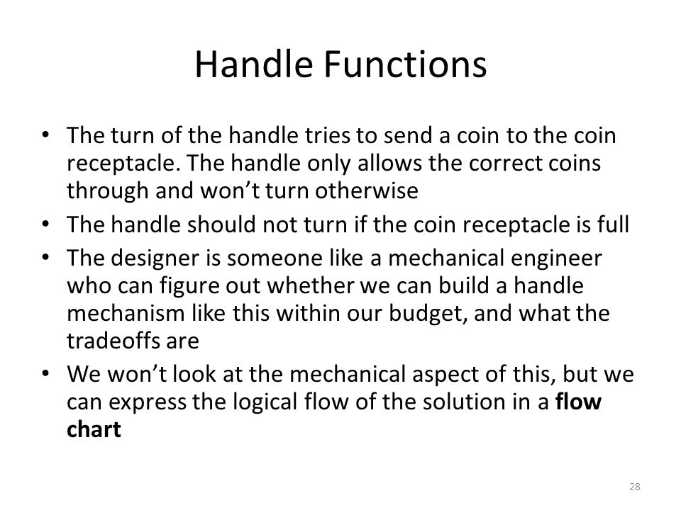 Handle Functions