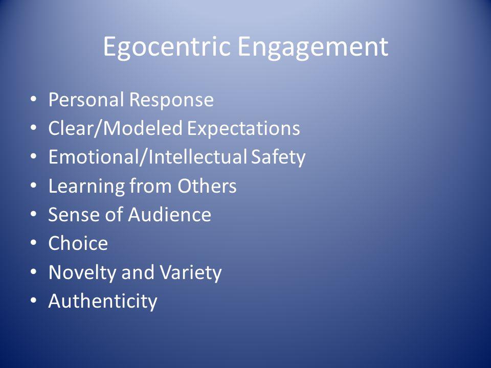 Egocentric Engagement