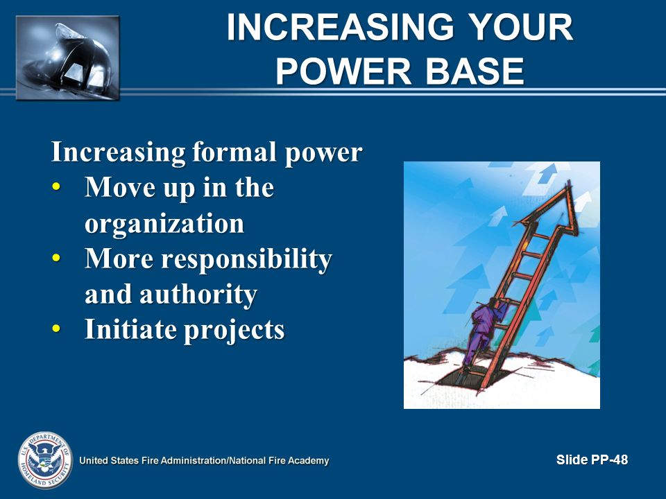 INCREASING YOUR POWER BASE
