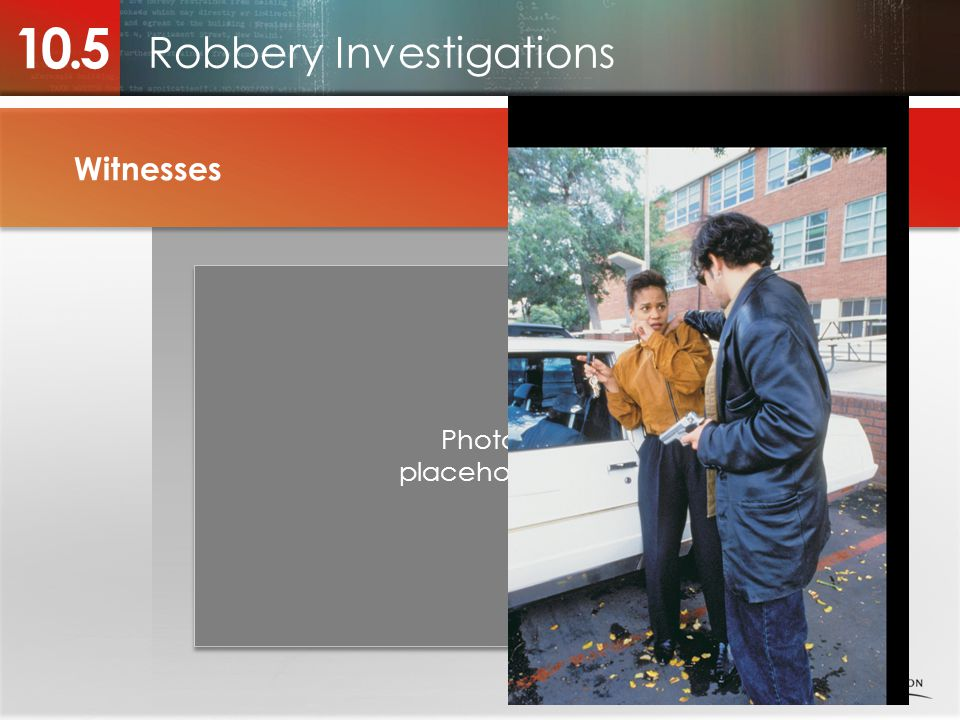 Robbery Investigations