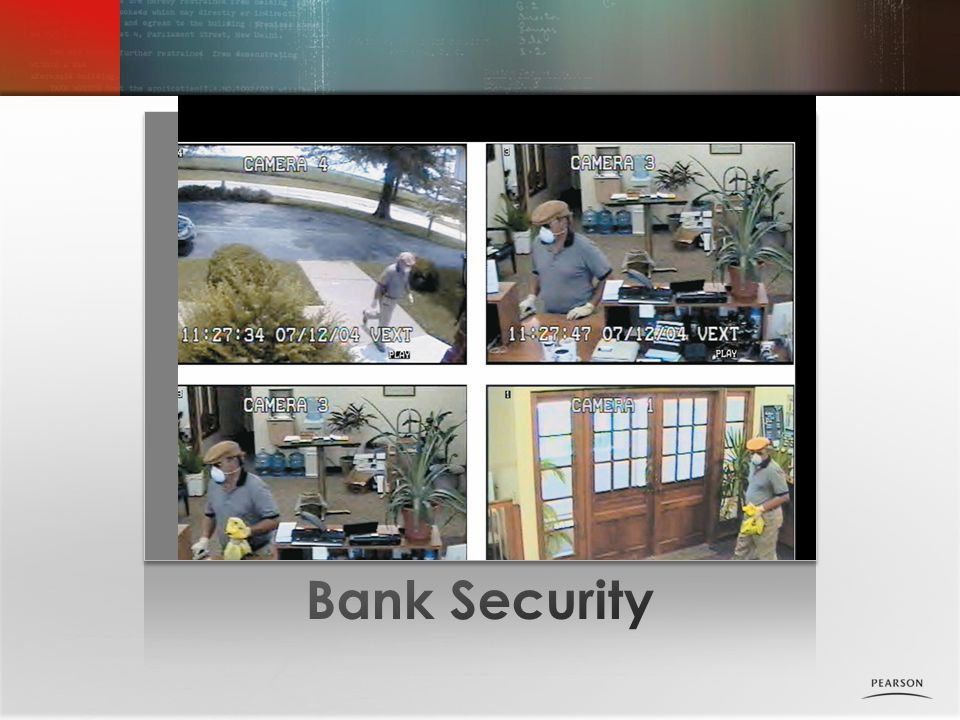 Bank Security Photo placeholder Lecture Notes: