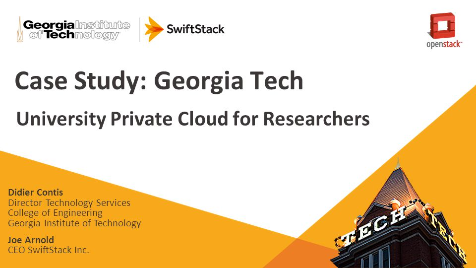 Case Study: Georgia Tech