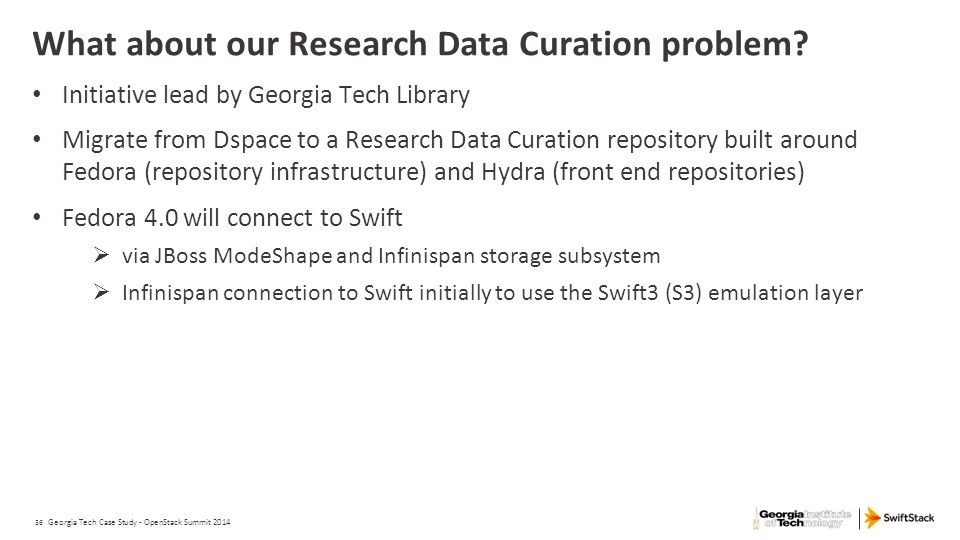What about our Research Data Curation problem