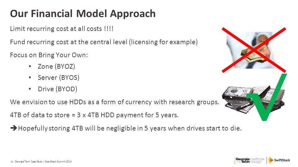 Our Financial Model Approach