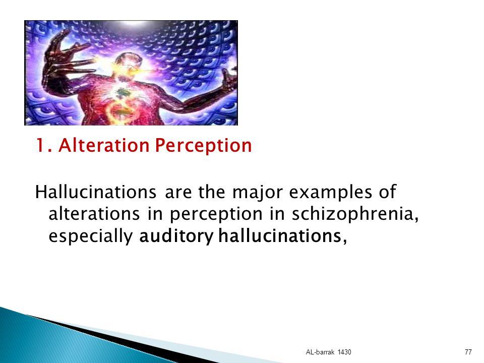 1. Alteration Perception