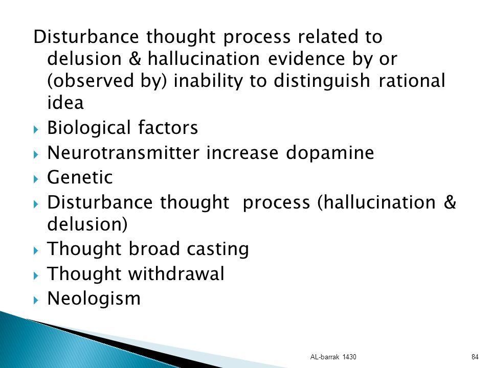 Neurotransmitter increase dopamine Genetic