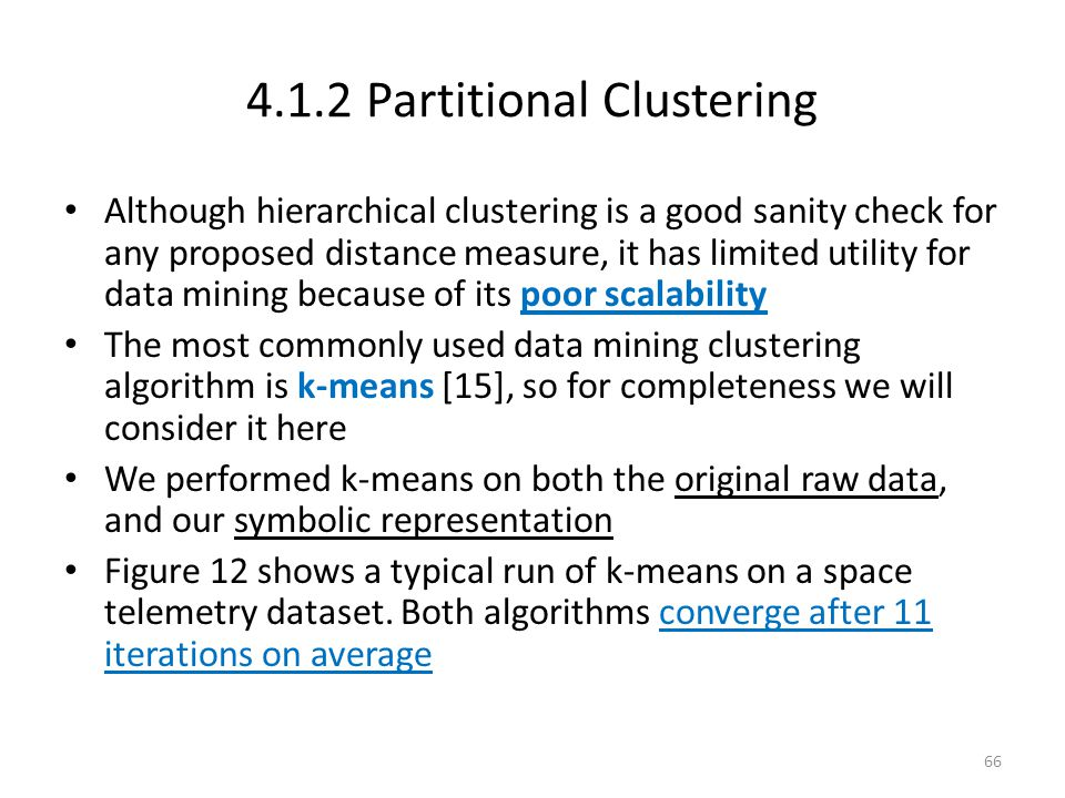 4.1.2 Partitional Clustering