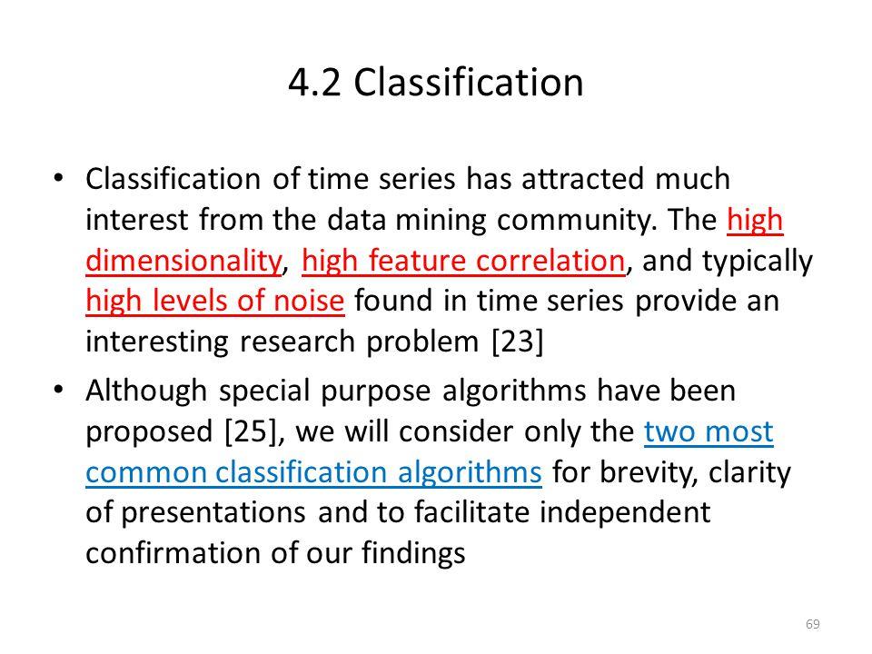4.2 Classification