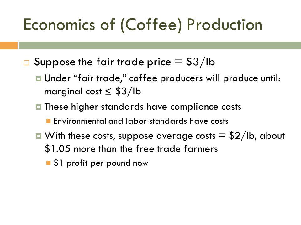 Economics of (Coffee) Production