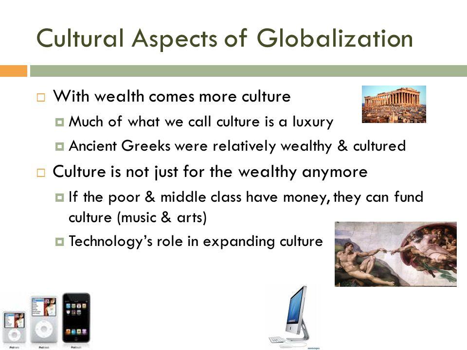Cultural Aspects of Globalization