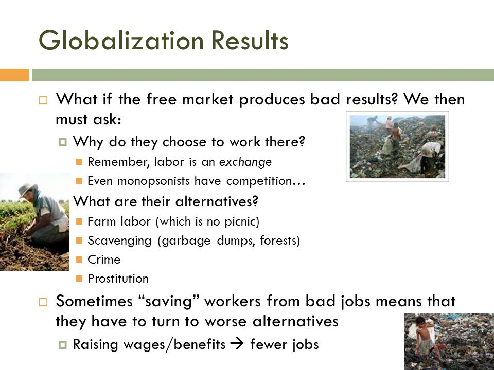 Globalization Results