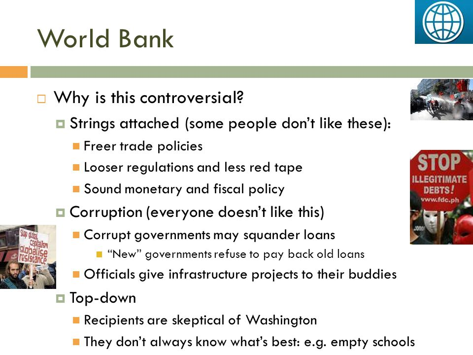 World Bank Why is this controversial