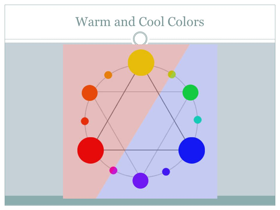 Warm and Cool Colors Day 6