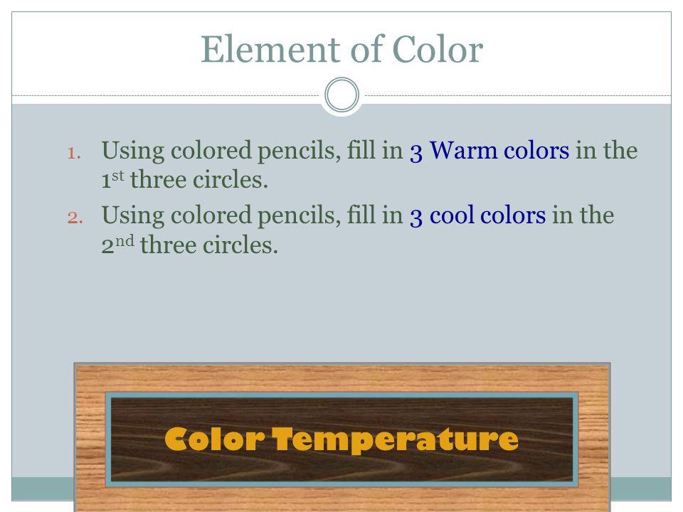 Element of Color Color Temperature