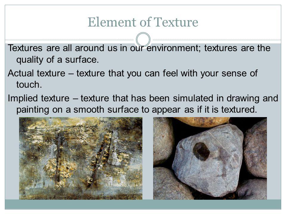 Element of Texture