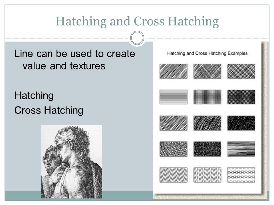Hatching and Cross Hatching