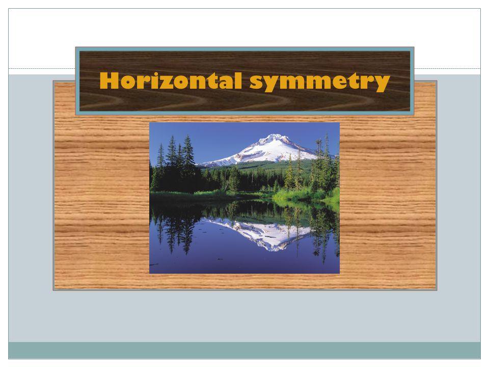 Horizontal symmetry
