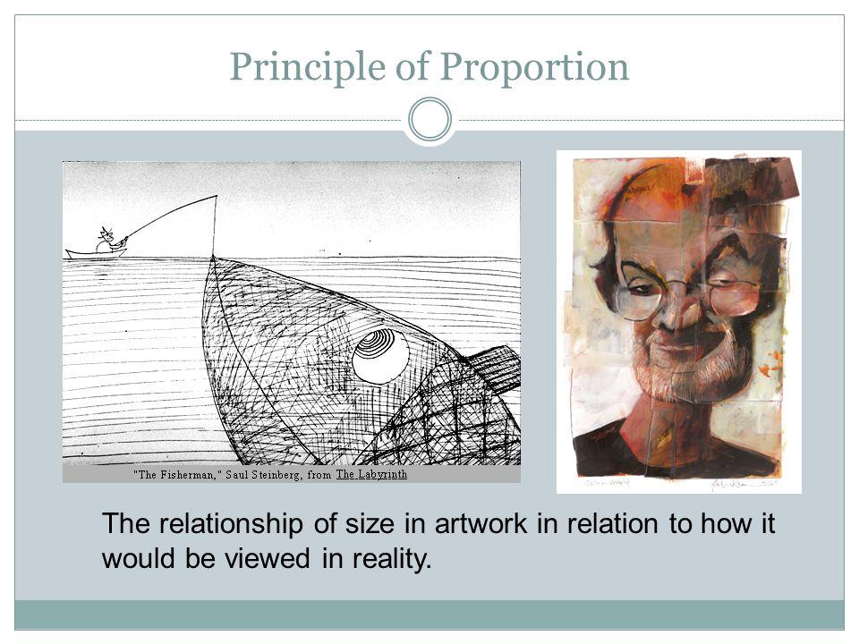 Principle of Proportion