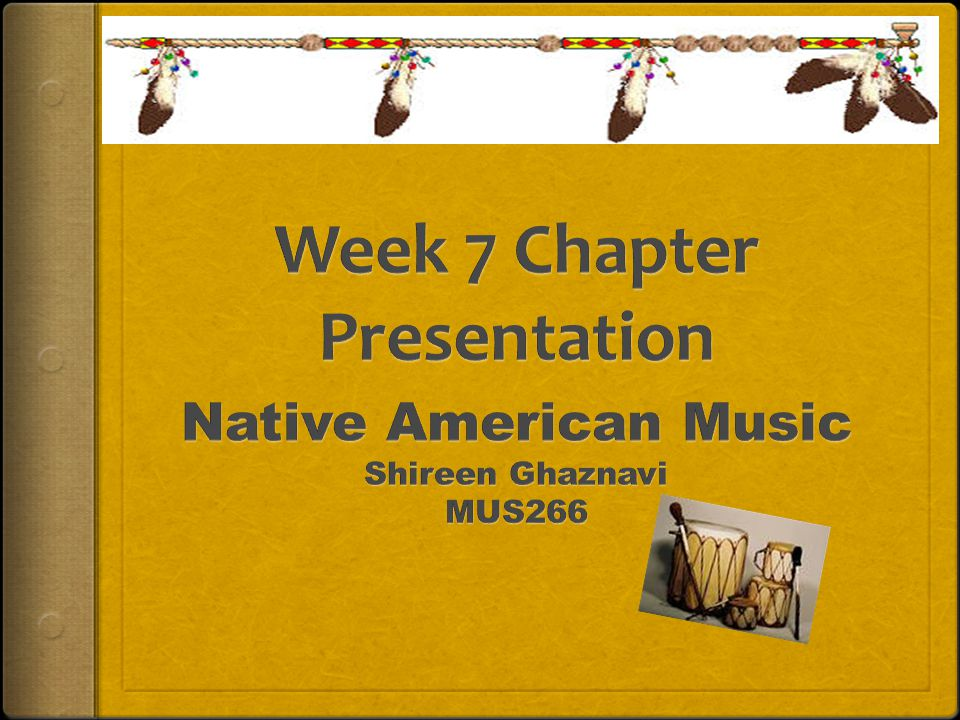 Week 7 Chapter Presentation
