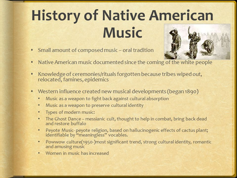 History of Native American Music