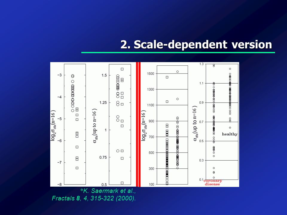 2. Scale-dependent version