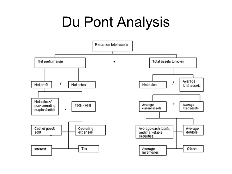 dupont model analysis