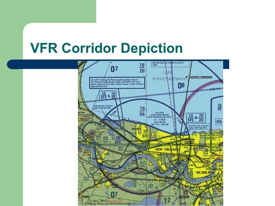 VFR Corridor Depiction