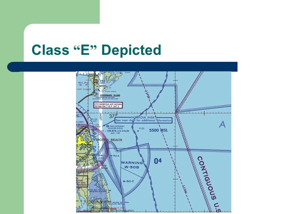 Class E Depicted
