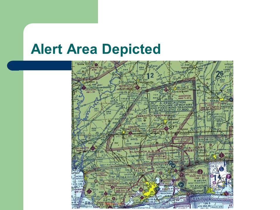 Alert Area Depicted