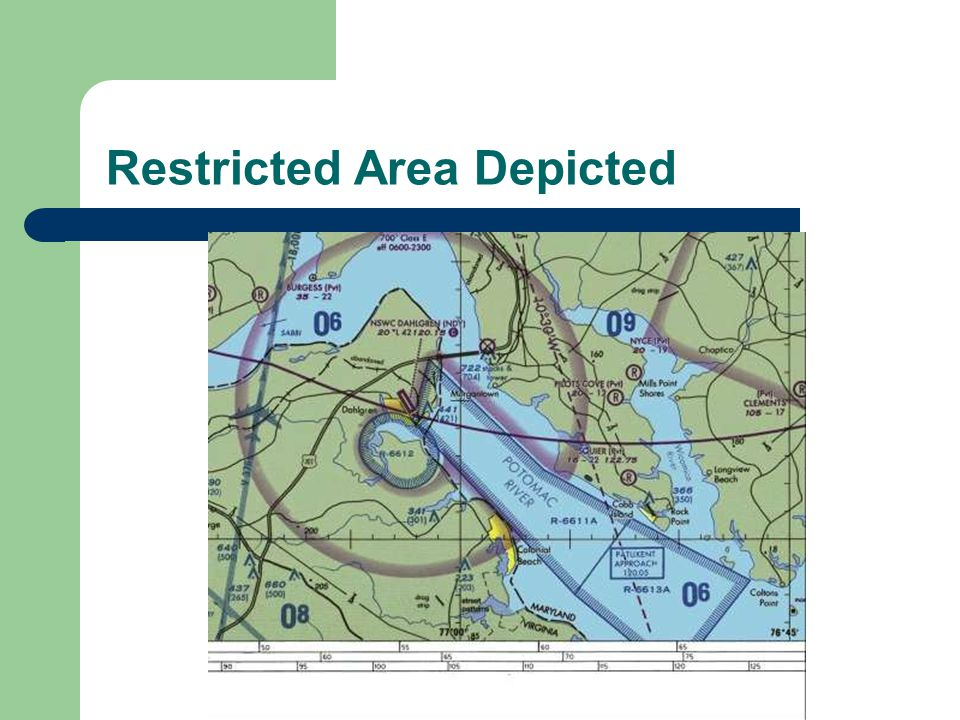 Restricted Area Depicted