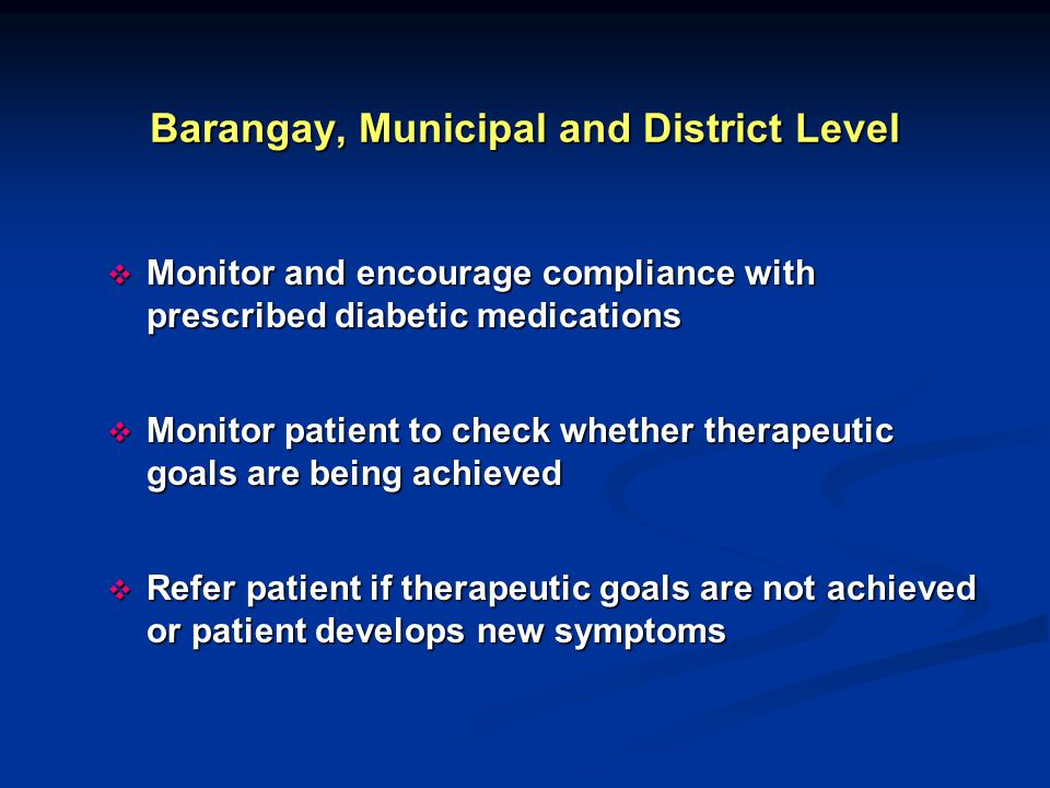 Barangay, Municipal and District Level