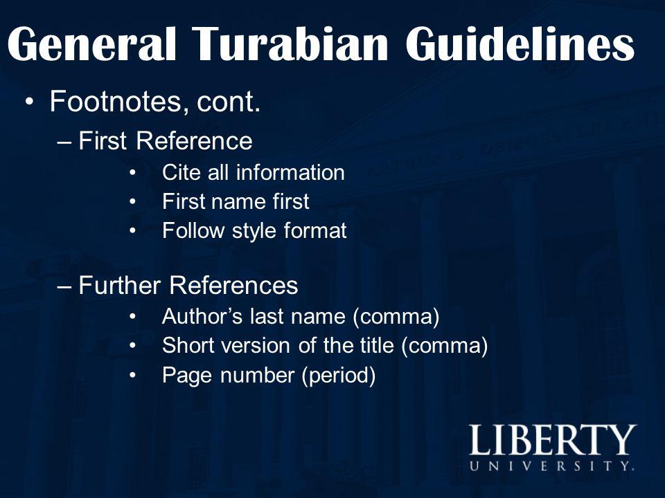 turabian dissertation abstract