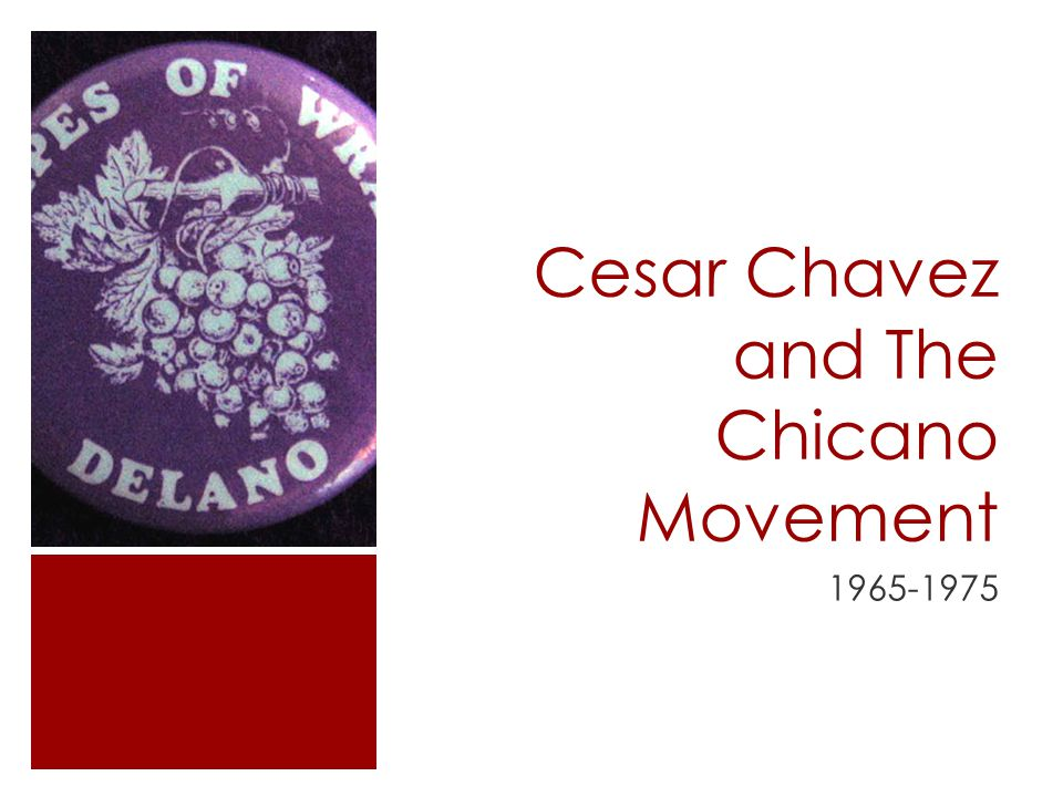 Cesar Chavez and The Chicano Movement