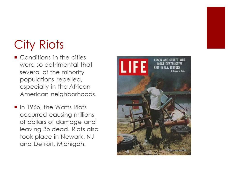 City Riots