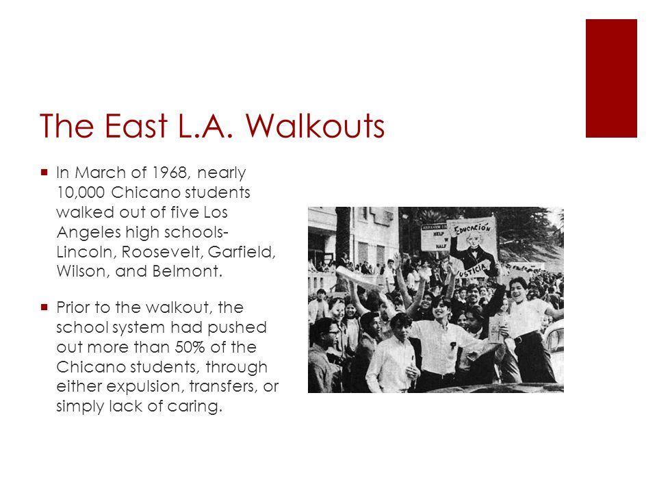 The East L.A. Walkouts