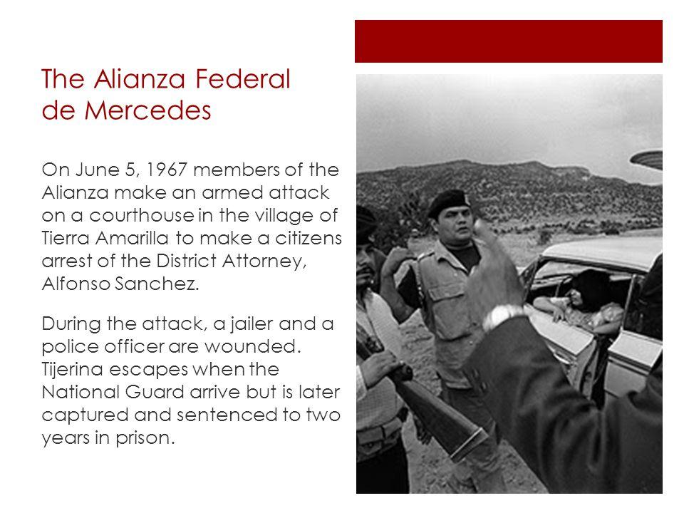 The Alianza Federal de Mercedes