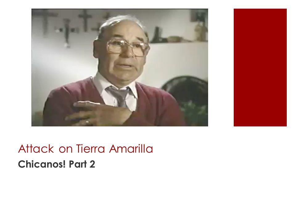 Attack on Tierra Amarilla