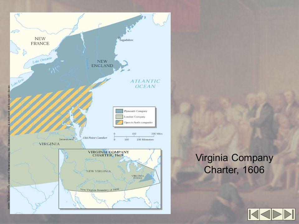 Virginia Company Charter, 1606