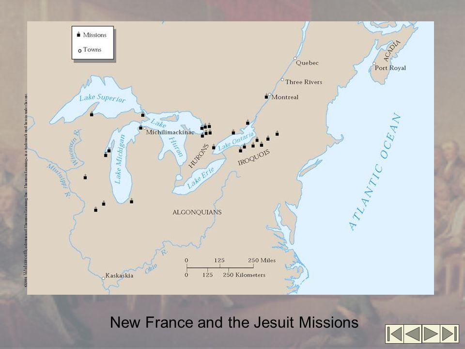 New France and the Jesuit Missions
