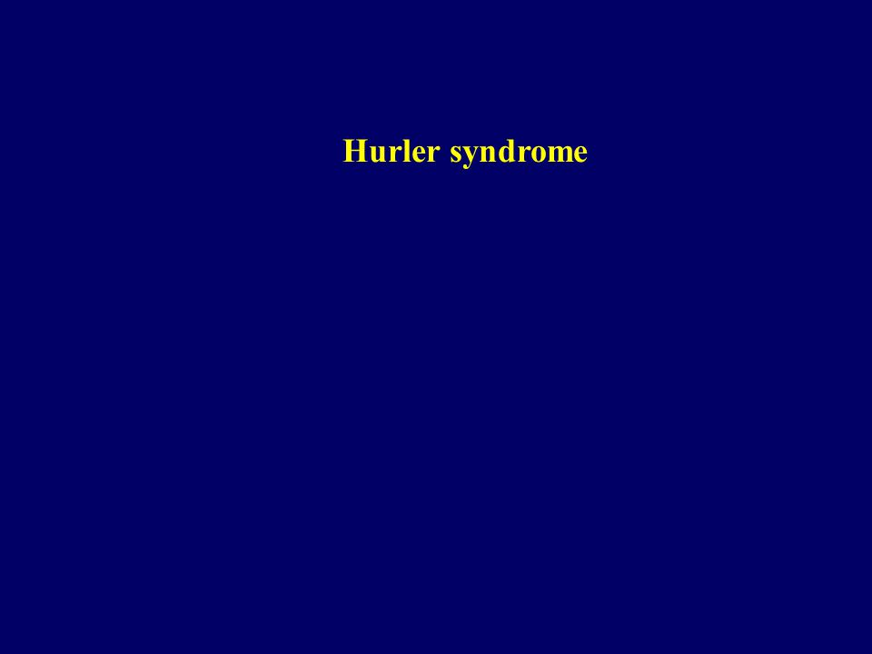 Hurler syndrome