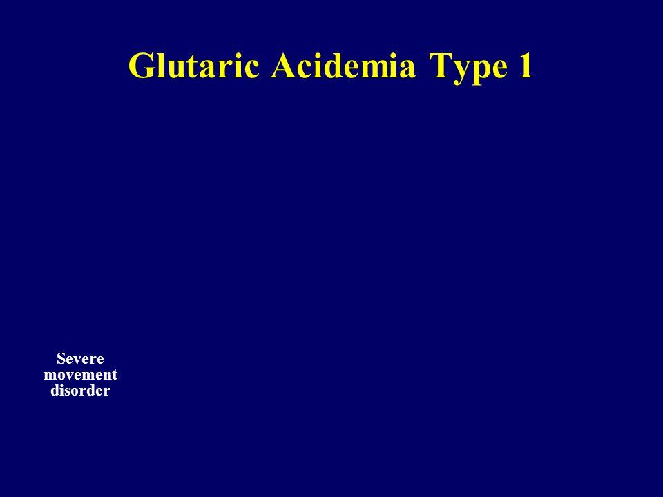 Glutaric Acidemia Type 1