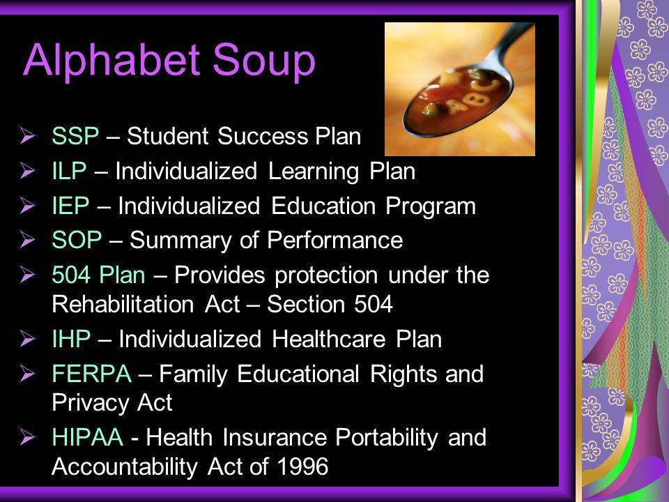 Alphabet Soup SSP – Student Success Plan