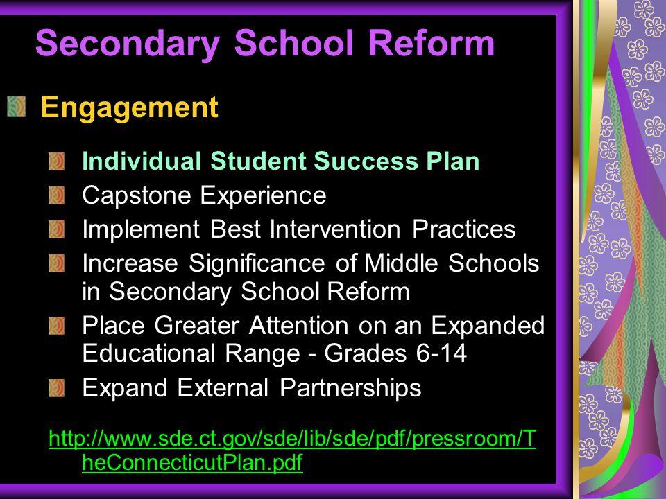 Secondary School Reform
