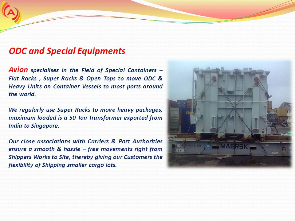 ODC and Special Equipments