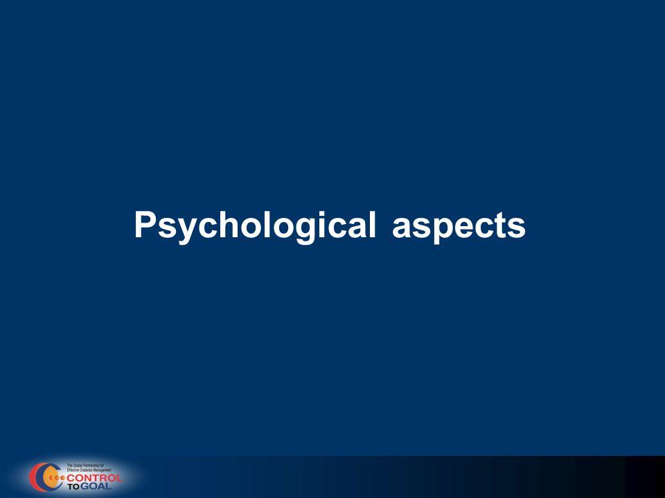 Psychological aspects