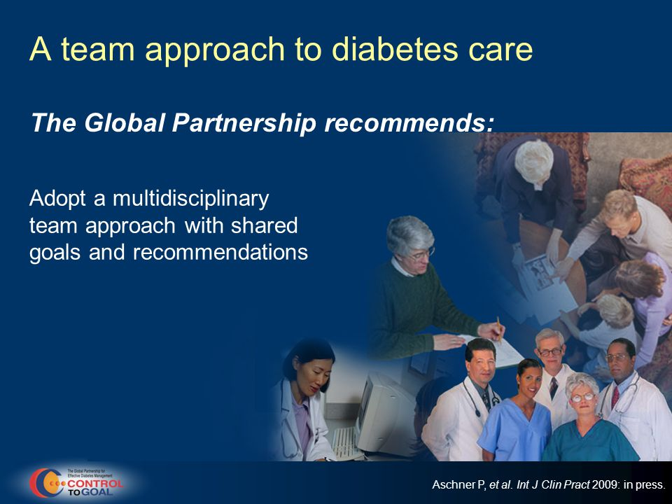 A team approach to diabetes care