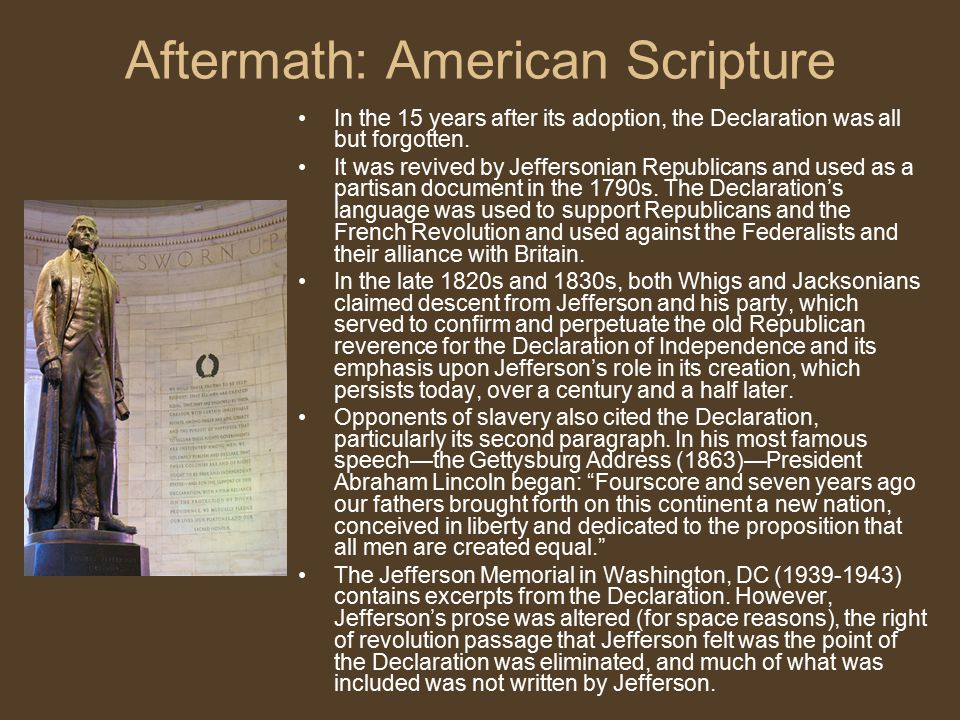 Aftermath: American Scripture